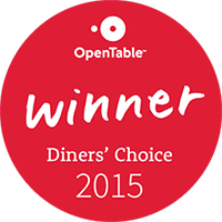 Peppers Restaurant has been selected again for the OpenTable Diners' Choice Awards. From cocktails to dessert, they were impressed!
